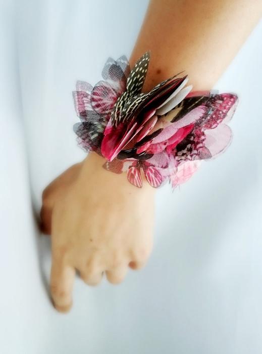 Браслет из бабочек от дизайнера из Турции.