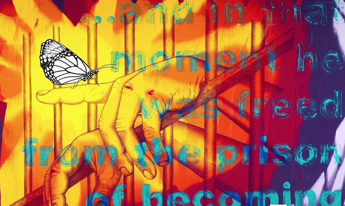 Одна из картин Джима Керри.