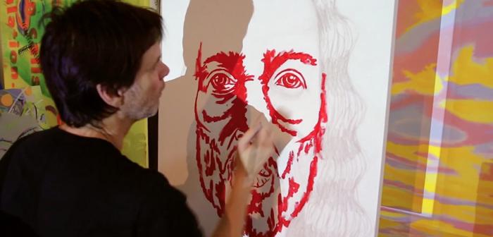 Джиму Керри особенно нравится рисовать облик Иисуса.