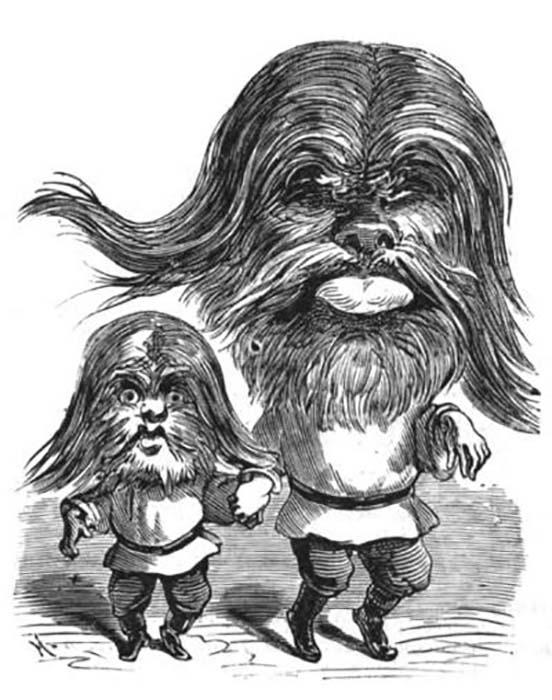 Карикатура на Адриана и Фёдора Евтищевых.