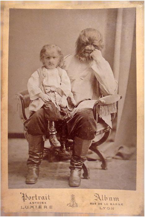 Фёдор со своим отцом Адрианом.