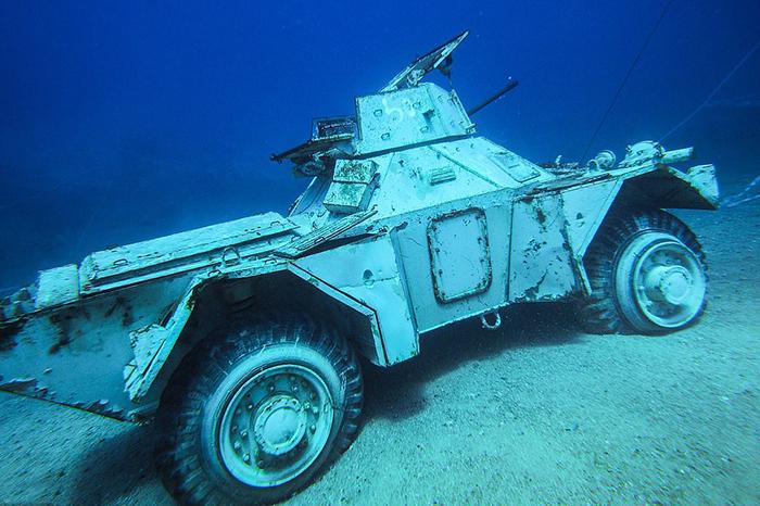 Подводный военный музей.