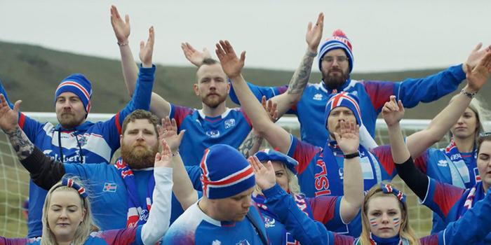 Исландцы спели на русском языке.