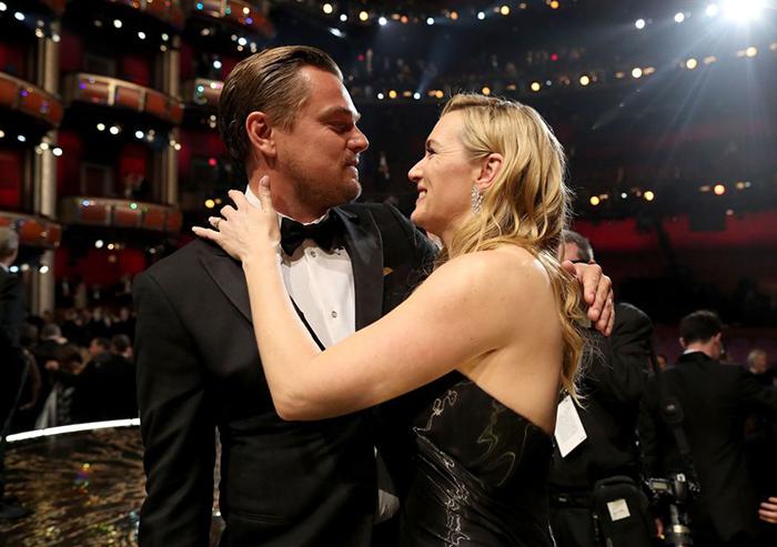 Кейт и Лео.