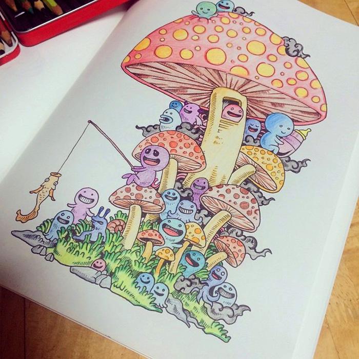 Волшебные иллюстрации Керби Розанеса.
