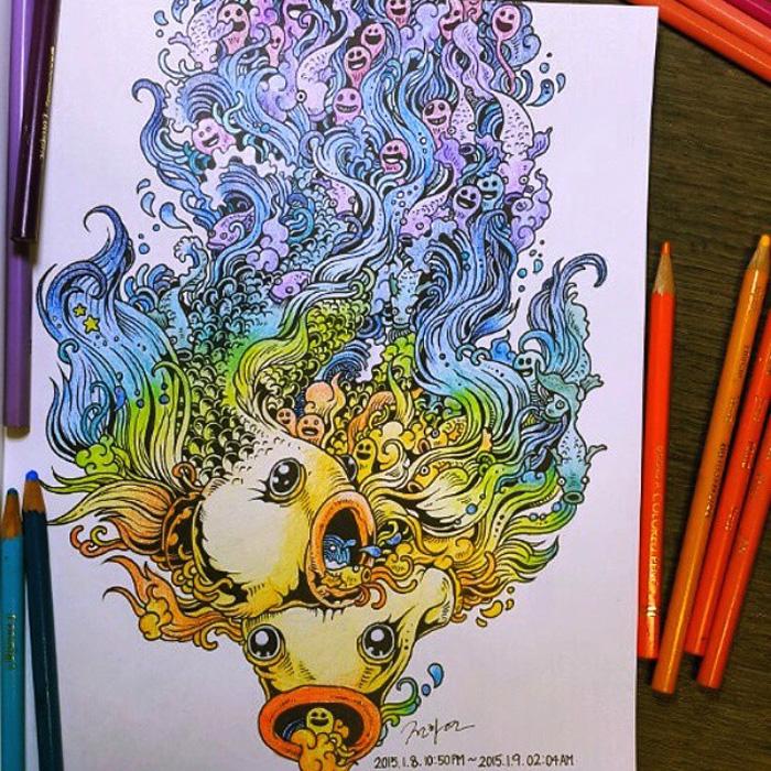 Почувствуй себя художником.
