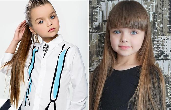 Самая юная красавица из России.