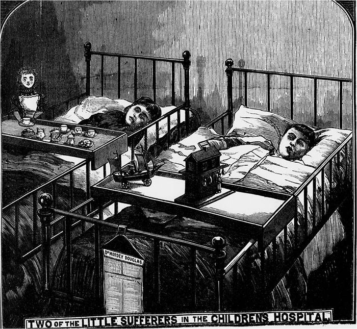 Дети в больнице.