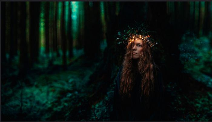 Киндра Николь - концептуальный фотохудожник.