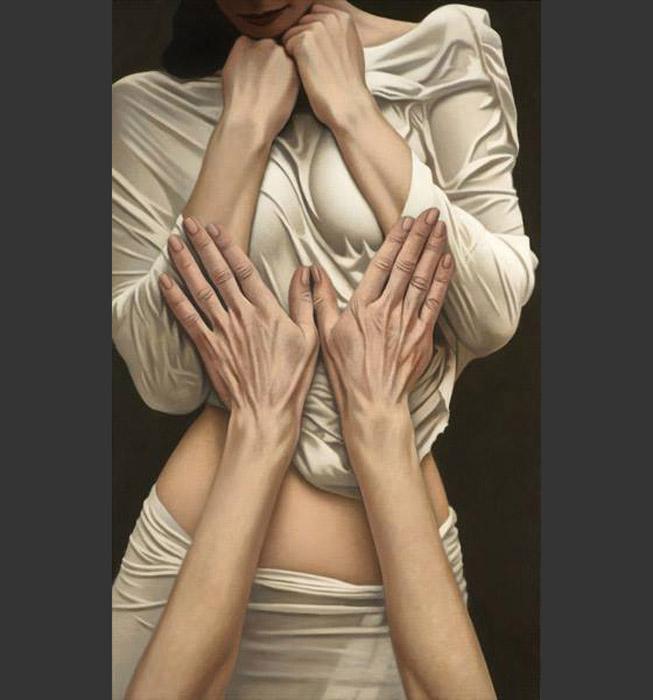 Мои руки на Б. Автор: Willi Kissmer.
