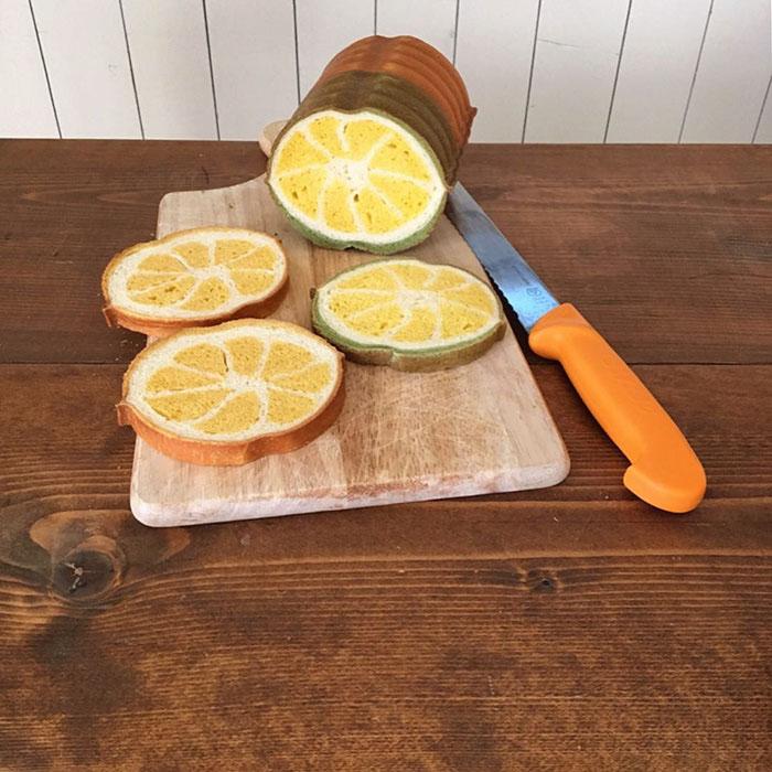 Лимон, но не кислый. Автор: Konel Bread.