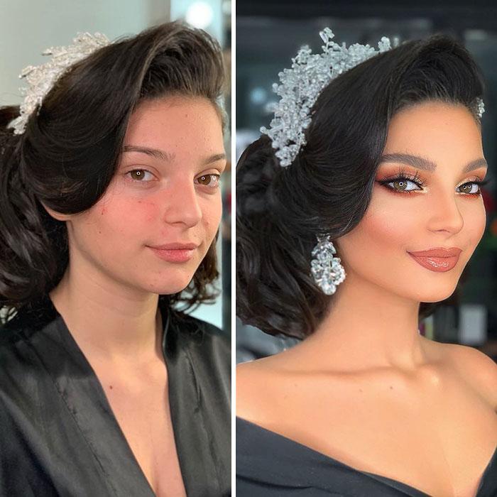 Примеры макияжа от визажисты из Косово.