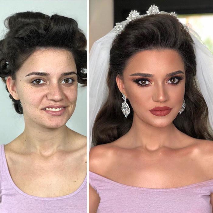 Сила макияжа.