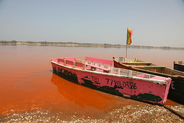 Озеро Ретба.
