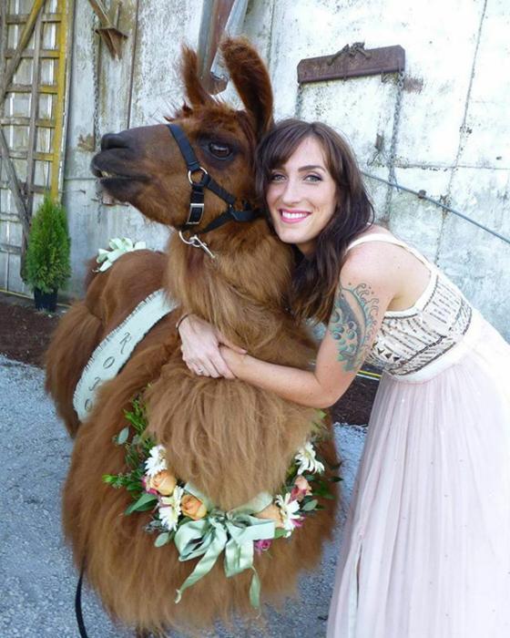 Невеста со знаменитым Рохо.
