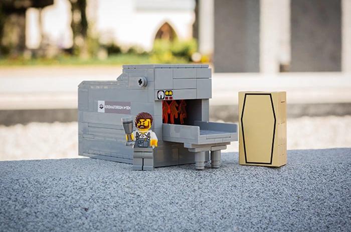 ЛЕГО-крематорий.