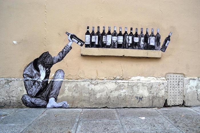 Вино.  Автор: Levalet.