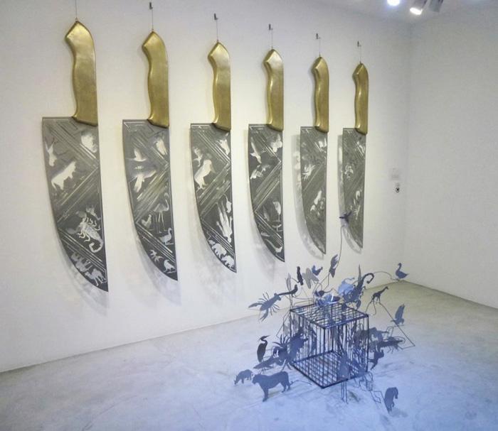 Тень Ножей. Выставки Ли Хонгбо.