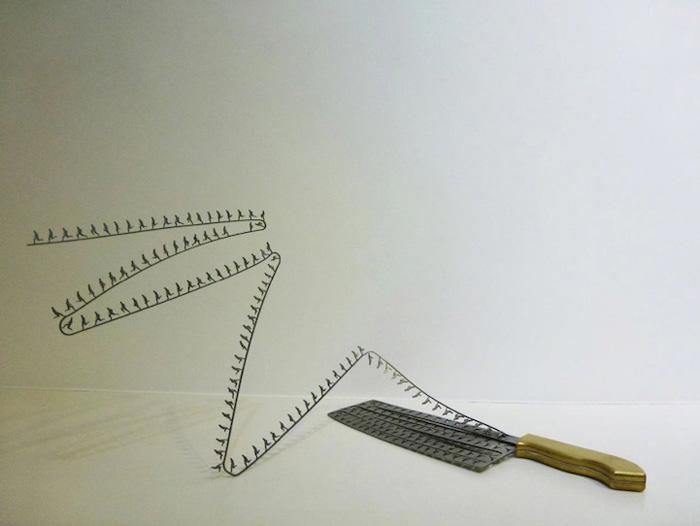 Ли Хонгбо и его необычные ножи.
