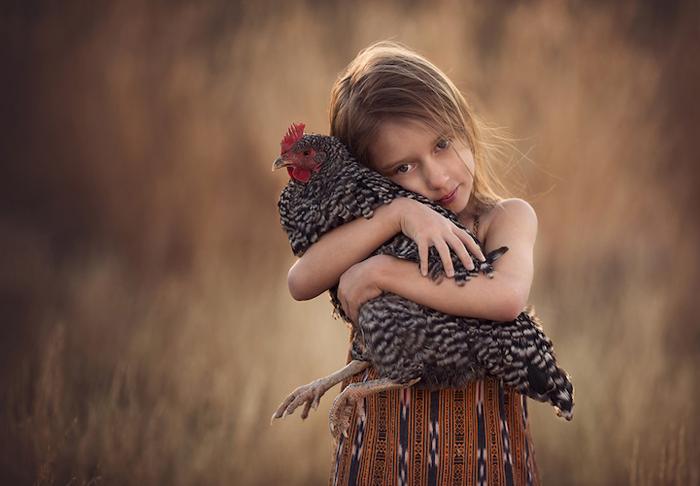 Чудесные снимки детей Лизы Холлоуэй.