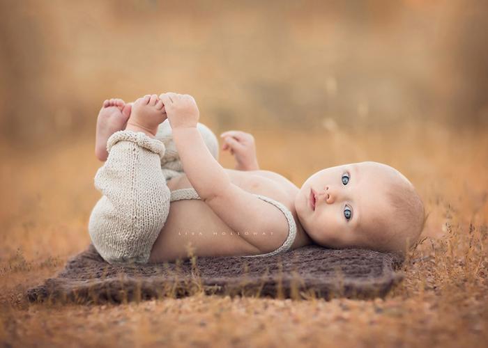 Лиза Холлоуэй создает прекрасные снимки своих детей.