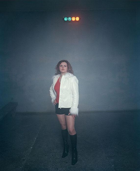 Фотографа очаровало то, как на дискотеках время будто осталось частично в прошлом.  Фото:  Andrew Miksys.
