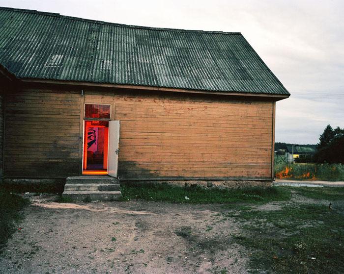 Дискотеки в селах часто проводятся в неспециализированных помещениях, где просто есть достаточно большой зал.  Фото:  Andrew Miksys.