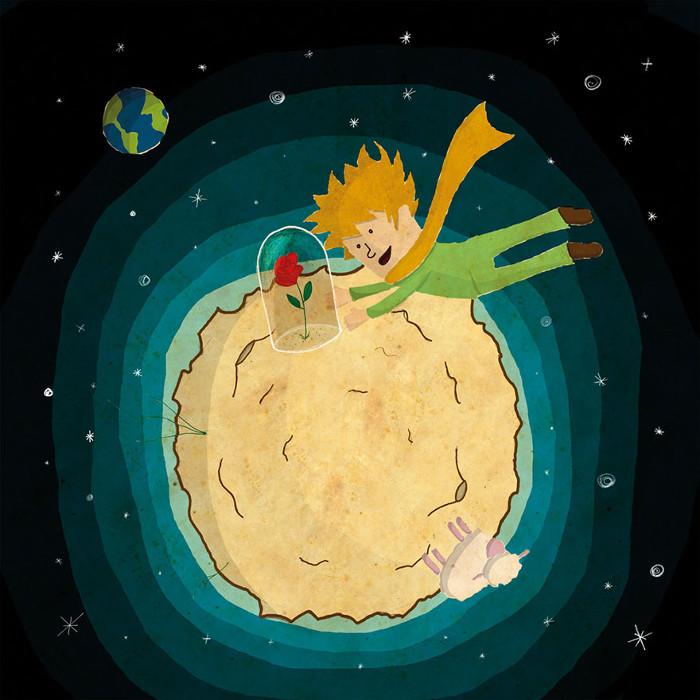 Глава 27. Маленький Принц. Автор: Marcelo Miraglia.