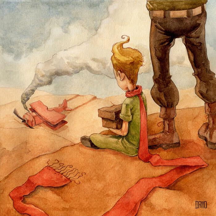 Глава 3. Самолет с неба. Автор: Maximiliano Dall'o.