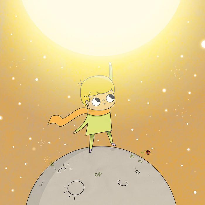 Глава 6. Солнце. Автор: Leonardo Rodriguez.