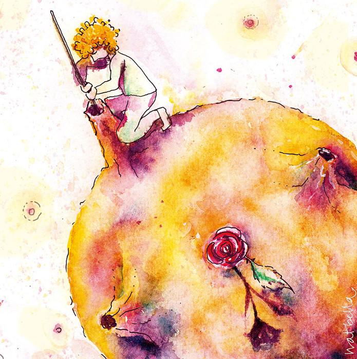 Глава 9. Уборка своей планеты. Автор: Natalia Bellagamba.
