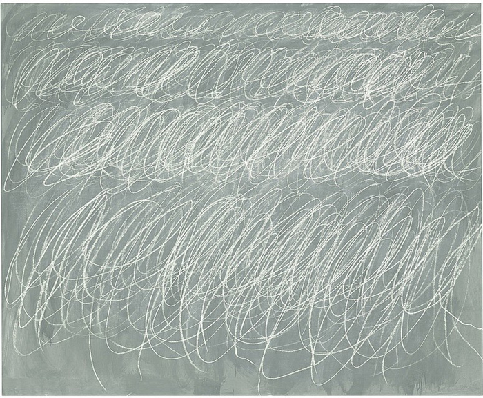 *Untitled (1970)* Cy Twombly.