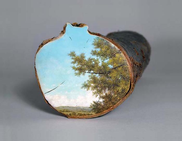Серия пейзажей от Элисон Морицугу.