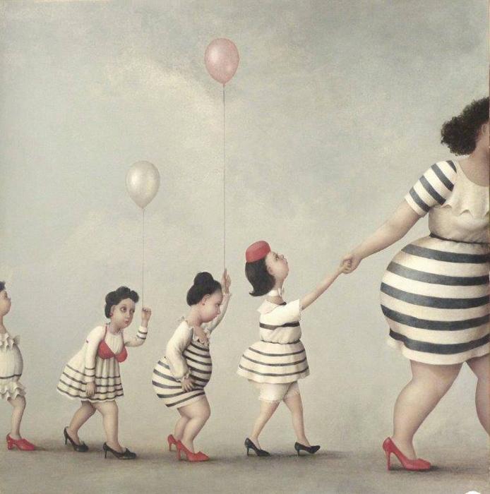 Общество. Автор: Jeanne Lorioz.