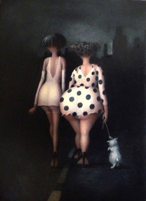 Фернанд и Марсель. Автор: Jeanne Lorioz.