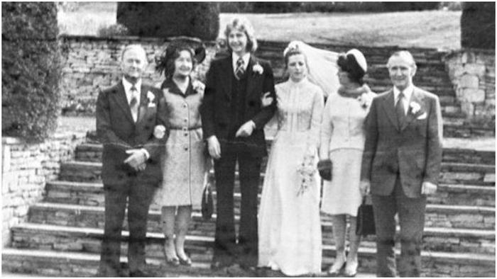 Свадьба в 1970-х.