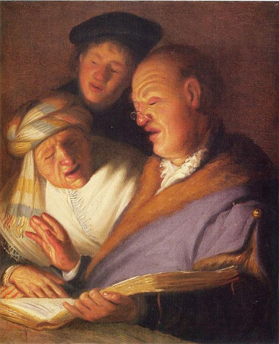 Три певца (Слух).
