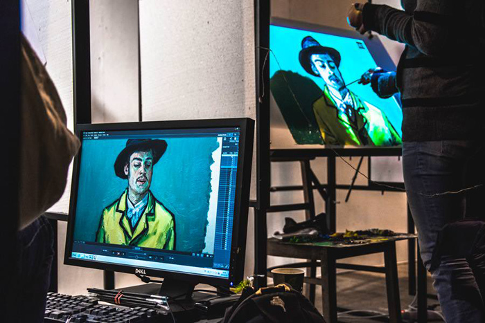 Работа над фильмом Loving Vincent занимает не просто дни, а месяцы и годы.