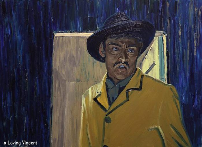 Кадр из фильма Loving Vincent.