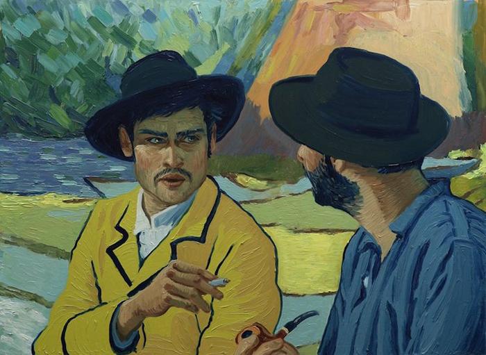 Фильм Loving Vincent состоит из 62 450 вручную нарисованных картин.