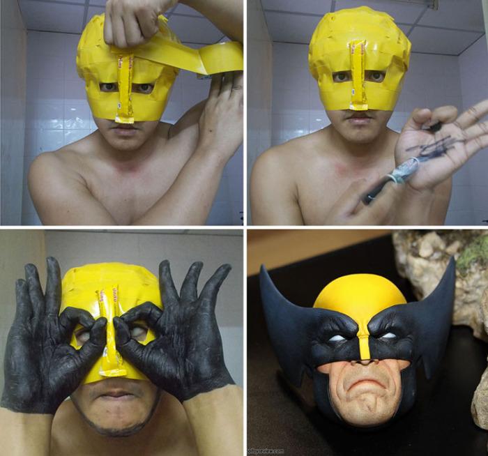 Wolverine.  Автор: Lowcost Cosplay.