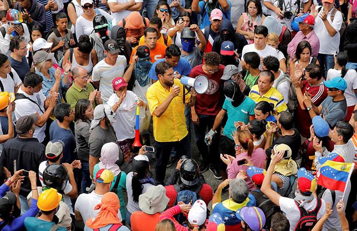 Текущее положение вещей не устраивает жителей Венесуэлы.