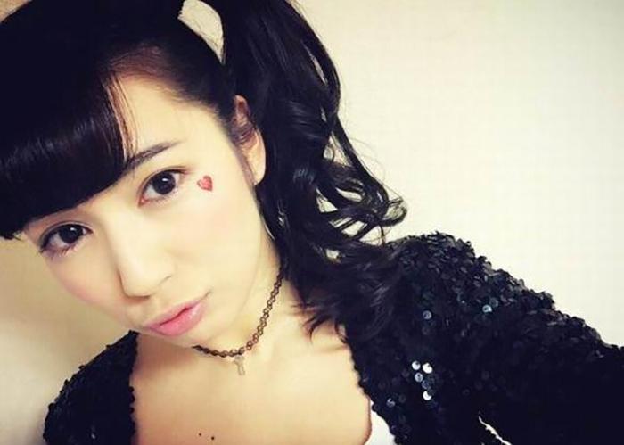 Миловидная девушка из Японии.