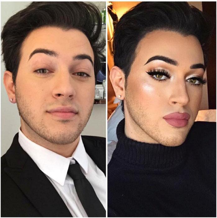 Мэнни vs. MannyMUA. Instagram mannymua733.