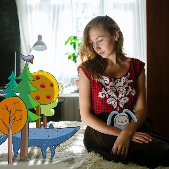 Марина Фандеева и ее проект *Рисоваши.*