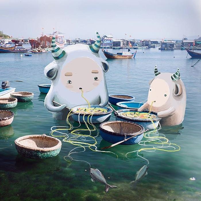 Вьетнам. Instagram marinafandee.