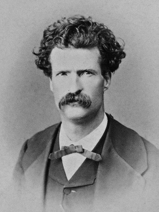 Марк Твен в 1867 году.