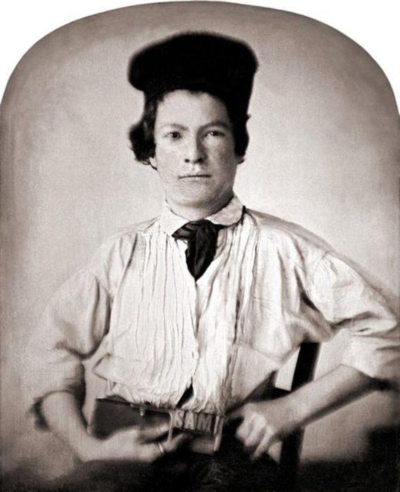 Марк Твен (Сэмюэл Клеменс) в 15-летнем возрасте.