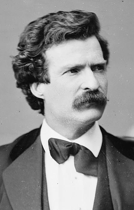 Марк Твен. Фото: Мэттью Брэди 7 февраля 1871 года.