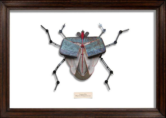 Крылья жуков при ближайшем рассмотрении состоят из крышек консервных банок.